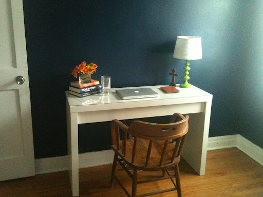 Before and After: Home Office!