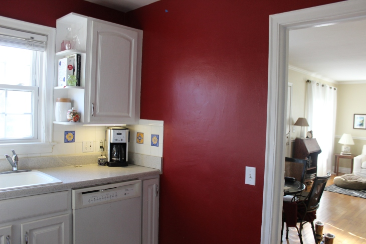 Paint colors for a white kitchen growing up gibson for Current paint colors for kitchens