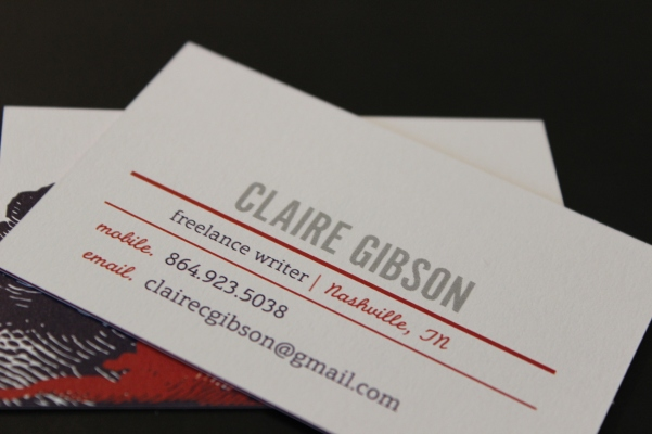 The 5 best tools for freelance writers growing up gibson for Freelance business cards