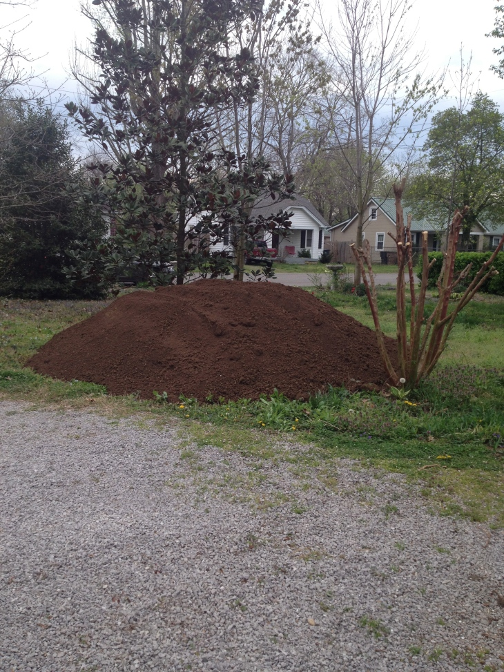 too much soil