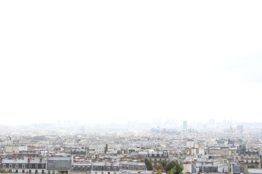 The View from Sacre Coeur
