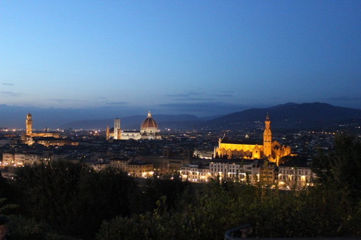 Florence Italy Nightscape