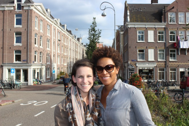 Dionna dn Claire in Amsterdam