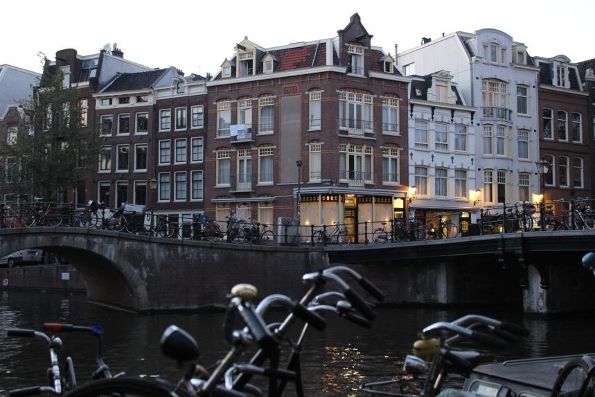 Amsterdam, night