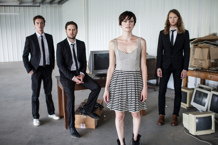 Kate Tucker and the Sons of Sweden. Photo via Emily B. Hall.